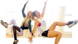 Dizzy Yoga Challenge with Blogilates! | iJustine