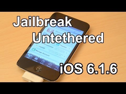 Jailbreak iOS 6.1.6 Untethered [iPod 4G/iPhone 3GS] - p0sixspwn