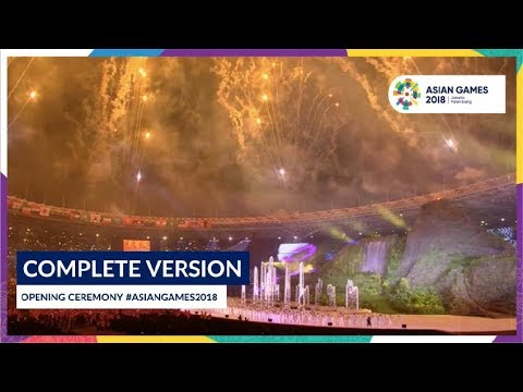 Xxx Mp4 Opening Ceremony Of 18th Asian Games Jakarta Palembang 2018 Complete Version 3gp Sex