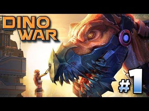 THE REPTILIANS ATTACK!!! - Dino War | Ep1