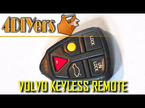 DIY: Volvo Keyless Remote Battery Replacement and Dissassembly