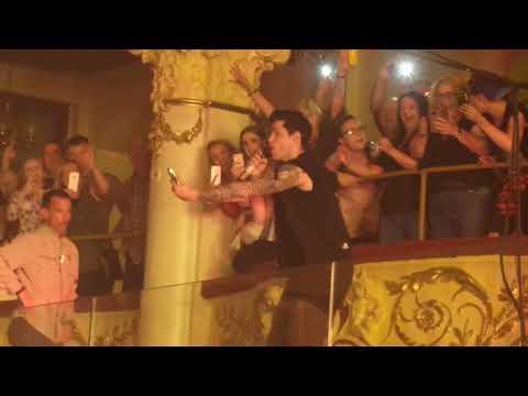 the script blackpool danny on balcony