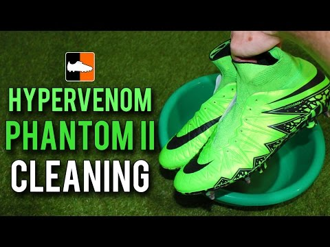 How to Clean the Nike Hypervenom Phantom II - Lightning Storm Edition