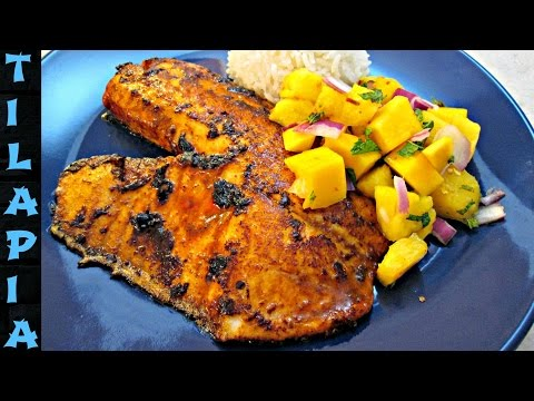 Tilapia - Spicy Blackened Chipotle Recipe - PoorMansGourmet