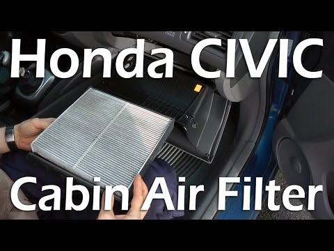 Honda Civic (2006-2011) - Cabin Air Filter Replacement.