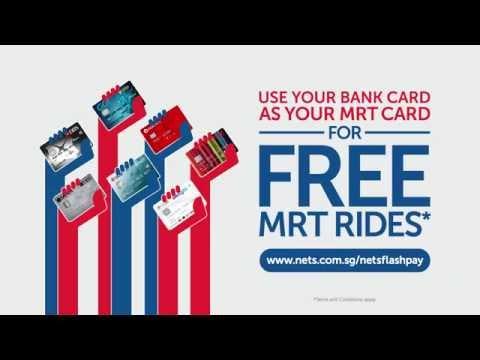 NETS FlashPay FREE MRT Rides