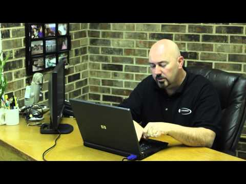 How to Put Your Laptop Onto a Bigger Computer Screen : High-Tech Topics