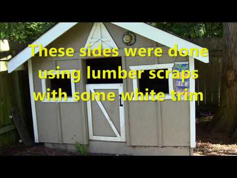 Pallet Project: How to make a Pallet Playhouse