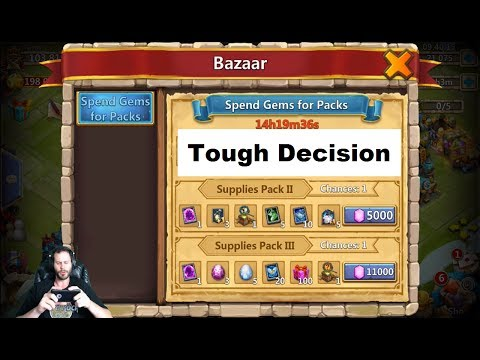JT's Free 2 Play Should I Purchase This BAZAAR PACK Castle Clash