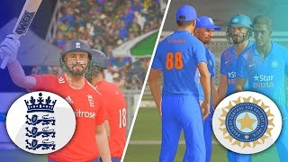 DON BRADMAN CRICKET 17 - ENGLAND TOUR OF INDIA 2017 - 1ST T20