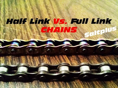 HALF LINK vs TRADITIONAL LINK CHAINS (Saltplus)
