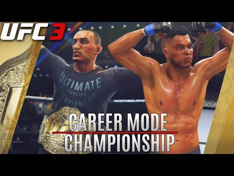 CHAMPIONSHIP Title Fight Is A Brawl! EA Sports UFC 3 GOAT Career Mode!