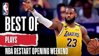 Best Of PLAYS So Far | NBA Restart