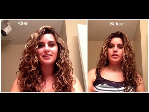 How to Scrunch Out the Crunch with Conditioner