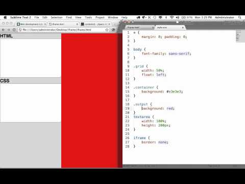 How to Inject Custom HTML and CSS into an iFrame