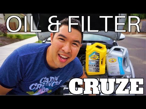 Chevy Cruze Oil & Filter Change 2011-2015 | Engine Performance Restoration + Oil Treatment + BG MOA