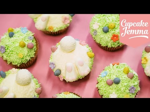 Easter Bunny Cupcakes | Cupcake Jemma