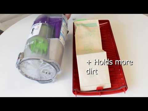 Bagged versus Bag-less Vacuum Cleaners