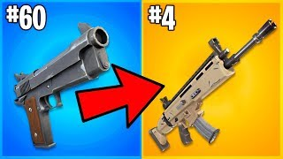 RANKING EVERY GUN IN FORTNITE FROM WORST TO BEST