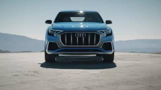Audi Q8 concept footage