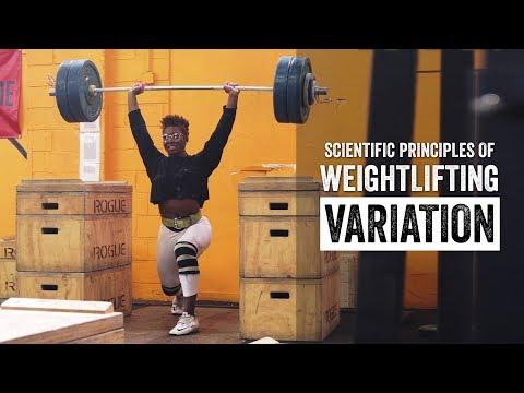 Scientific Principles of Weightlifting | Variation | JTSstrength.com