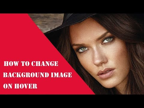 How to change background image on hover