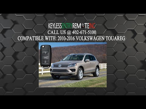 How To Replace Volkswagen Touareg Key Fob Battery 2004 - 2016