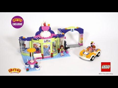 Smyths Toys - LEGO 41320 Friends Heartlake Frozen Yogurt Shop