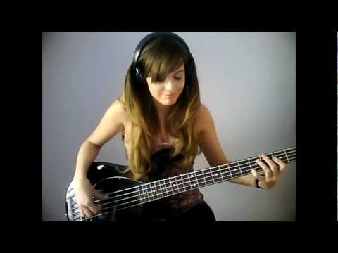 Muse - Panic Station [Bass Cover]