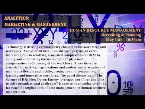HUMAN RESOURCE MANAGEMENT -- Recruiting & Planning (10:30am May 14th)