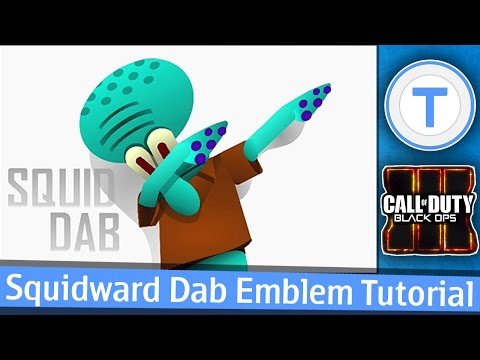 SQUIDWARD DAB - Black Ops 3 Emblem Tutorial