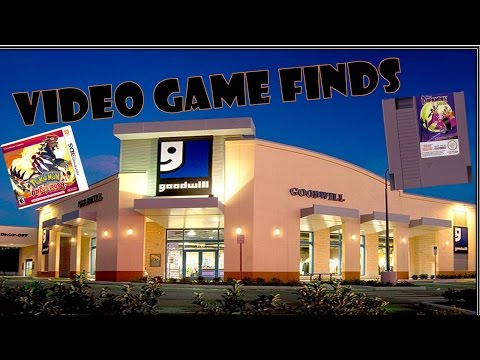 Video Game Finds (Episode 31) SNES Games at Goodwill???