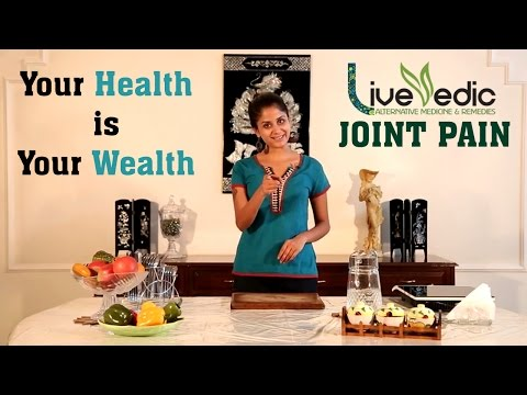 DIY: Quick Relief from Joint Pain with Natural Home Remedies | LIVE VEDIC