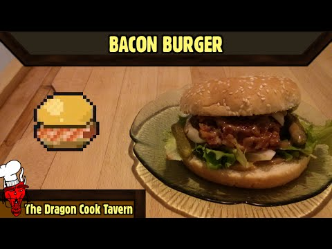 Bacon Burger - Always Sometimes Monsters - [The Dragon Cook Tavern]