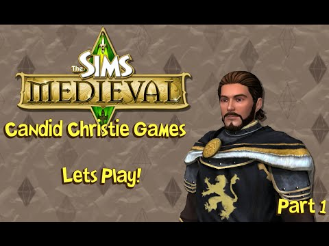 Let's Play the Sims Medieval   Part 1 - First Steps