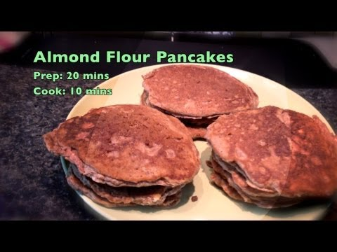 Almond Flour Pancakes, Low Carb, Gluten Free, Wheat Free