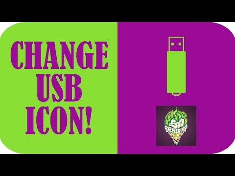 How to Change the Icon / Picture of Your USB!