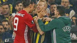 Zlatan Ibrahimovic - Best Fights \u0026 Angry Moments | HD