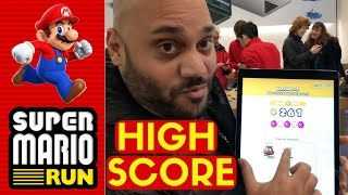 SUPER MARIO RUN: Can I Beat the Apple Store High Score?!