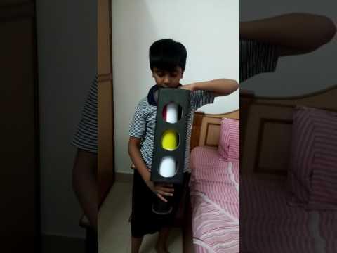 Traffic signal model for School Kids