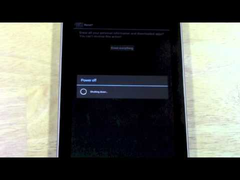 Nexus 7: How to Reset Back to Factory Settings | H2TechVideos