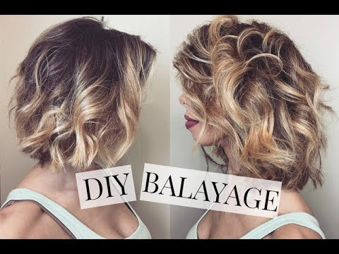 DIY Balayage (Teasing Method)