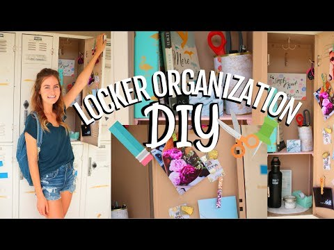 DIY Locker Organization & Decorations for Back to School!