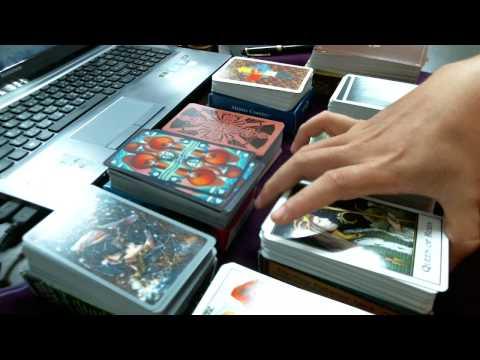 我的小小塔羅牌收藏 (My favorite Tarot Decks) -- 快速分享