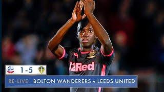 Relive: Bolton Wanderers U23 1-5 Leeds United U23: Professional Development League