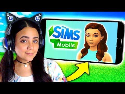 MAKING MY SIM SELF! 💚 The Sims Mobile 💚 Sim My Life (Ep 1)