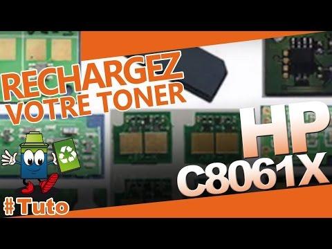 C8061X HP Toner : Bien Recharger Le Toner