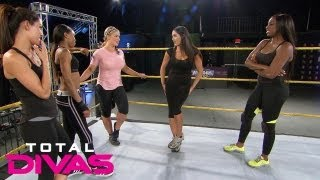 Natalya confesses something to the Divas: Total Divas, Sept. 1, 2013