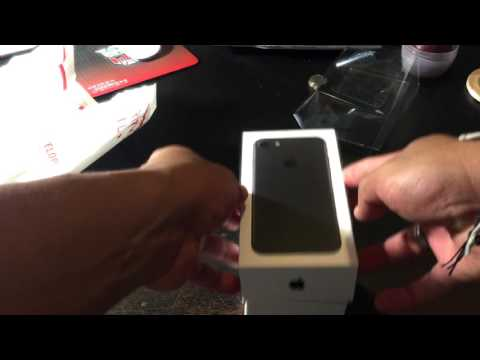 My iPhone 7 Matte Black 256GB UNBOXING