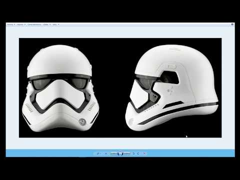 3ds max tutorial: Modeling a Stormtrooper helmet ( New Order) Part 1 of 2